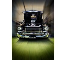 Blown 57 Chev Photographic Print