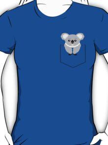 Koala In Shirt Pocket T-Shirt