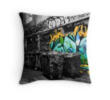 Dash of Paint Throw Pillow