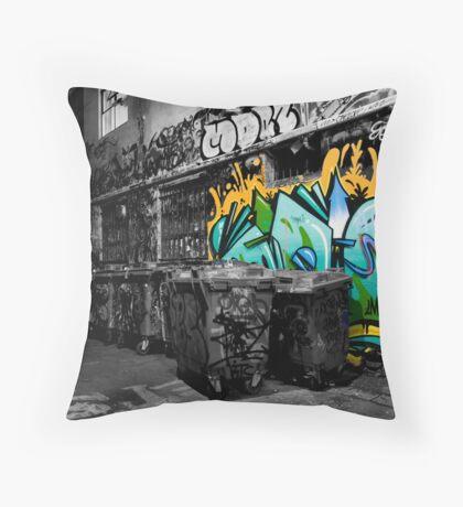 Dash of Paint Throw Pillow