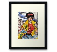 Fireworks and more Framed Print