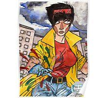Jubilee from X-Men Poster