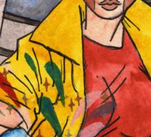 Jubilee from X-Men Sticker