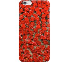 The Tower of London Remembers WWI iPhone Case/Skin