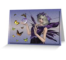 The Fae .. Ria Greeting Card
