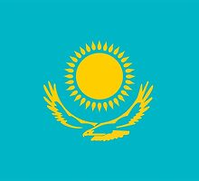 flag of Kazakhstan by tony4urban