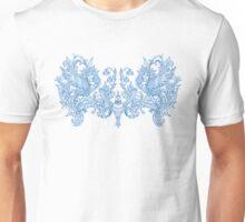 Harpies Blue Ornament Unisex T-Shirt