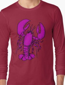 An Improbable Lobster... Long Sleeve T-Shirt