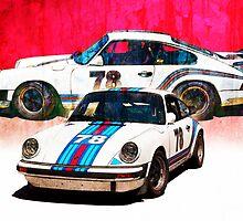 1976 Porsche 911 Carrera 3 by Stuart Row
