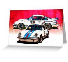 1976 Porsche 911 Carrera 3 Greeting Card
