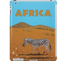 Landscape with Zebra iPad Case/Skin
