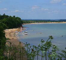 South Beach, Studland by RedHillDigital