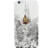 Church in Snow iPhone Case/Skin