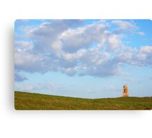 Clouds over Downhill State Canvas Print