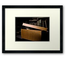 Baci Waiting In Ambush  Framed Print