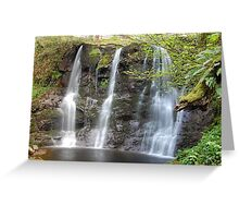 Ess-na-Crub Waterfall Greeting Card