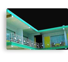 motel 5 Canvas Print