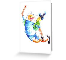 Finn highfive Greeting Card