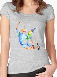 Finn highfive Women's Fitted Scoop T-Shirt