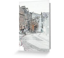 Irish Street, Downpatrick Greeting Card