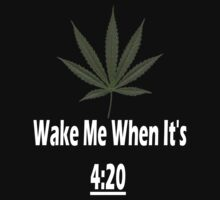Wake Me When It's 4:20 by MidnightRain