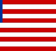 flag of Liberia by tony4urban