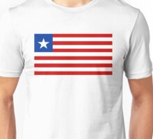 flag of Liberia Unisex T-Shirt