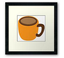 simple COFFEE cup Framed Print
