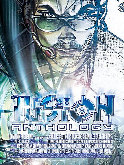 Fusion: Anthology Poster by Dominion Publishing Enterprises