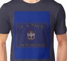 USN MCPO Unisex T-Shirt