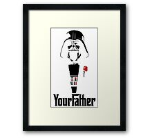 Darth Vader's your Father!! Framed Print