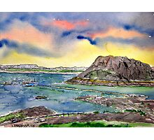 Elephant Butte Lake State Park New Mexico Photographic Print