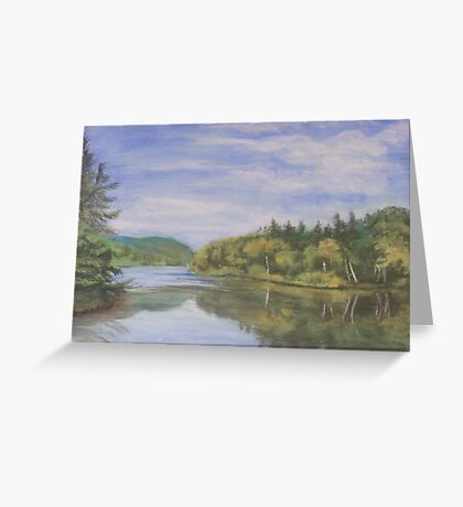 Nova Scotia Reflections 2 Greeting Card