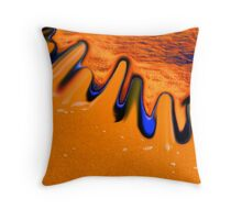 Sand Serges Throw Pillow