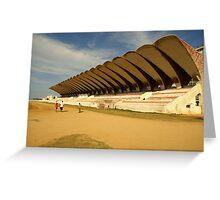 Cuban Stadium Greeting Card