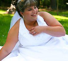 Happy Young Bride by Wendy Mogul