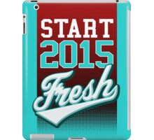 Start 2015 Fresh iPad Case/Skin