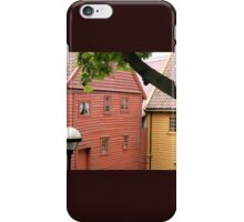 Old Bergen Buildings iPhone Case/Skin