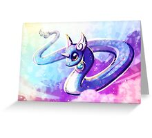 Dragonair the dragon pokemon Greeting Card