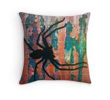 Arachnid Throw Pillow
