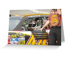 Dale Jarrett Greeting Card