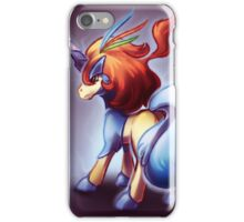 Keldeo the legendary pokemon iPhone Case/Skin