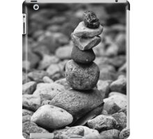 feather and stones iPad Case/Skin