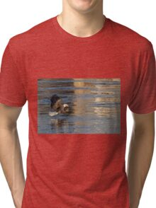 Out Of The Blue And Into The Blue  Tri-blend T-Shirt
