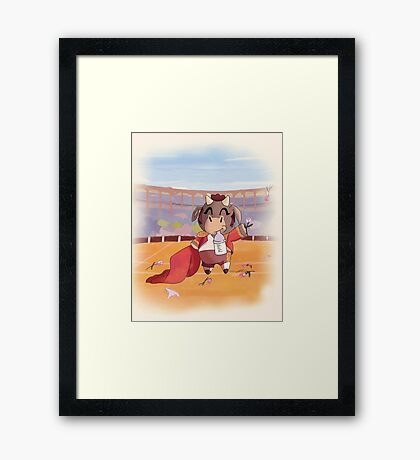 Animal Chibi  Framed Print