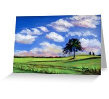 Summer Cloudscape Greeting Card