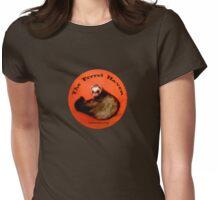 Ferret T - Round Orange Womens Fitted T-Shirt