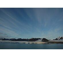 arctic sky Photographic Print
