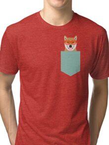 Shiba Inu - Cute shiba inu gifts for dog lovers dog owner gifts ideas cute shiba inu puppies Tri-blend T-Shirt