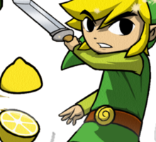 fruit zelda Sticker